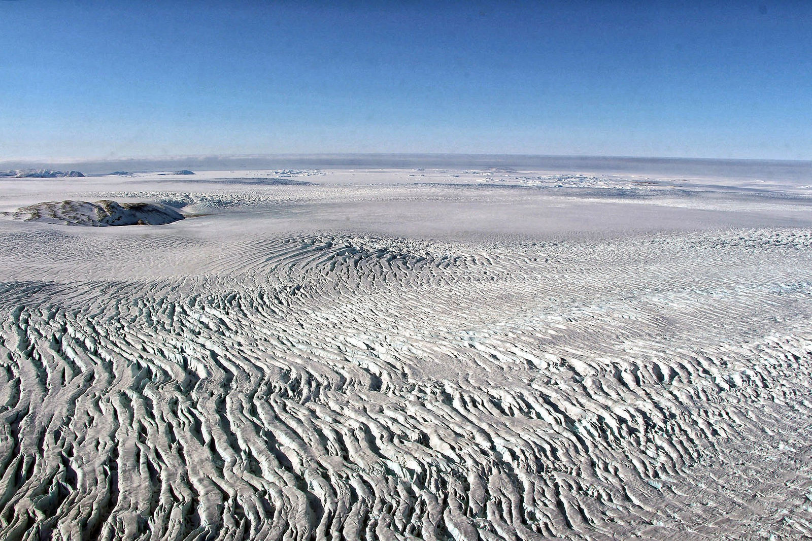 Holes in the Arctic Ice Worry Scientists